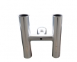 Dolphin Twin Rod Holder, anodised