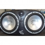 Carbon Fibre with Rainbow Powerline Component Speakers - 2 x 6.5